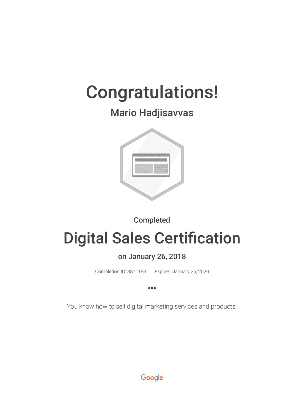 Certifications Artifex Net